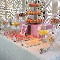 Pink 30th Lolly Buffet